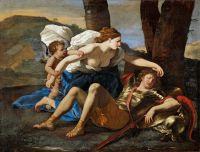Ринальдо и Армида (ок.1630) (82.2 х 109.2) (Лондон, Картинная галерея Далвич).