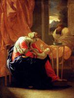 Святое семейство (1641) (71 х 57) (Детройт, Институт искусства)
