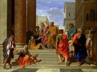 Святые Пётр и Иоанн, исцеляющие хромого (1655) (125.7 х 165.1) (Нью-Йорк, Метрополитен)
