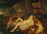 Спящая Венера (1620-е) (71 х 96) (Дрезденская галерея)
