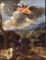 Чудесное перемещение св.Риты из Каши (середина 1630-х) (48.8 х 37.8) (Лондон, картинная галерея Далвич)