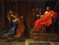 Эсфирь перед Артаксерксом (1650-е) (199 x 155) (С-Петербург, Эрмитаж)