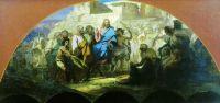Въезд Иисуса Христа в Иерусалим. 1876