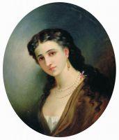 Женский портрет. 1866