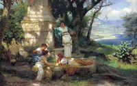 Игра в кости. 1889. Холст, масло