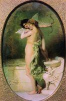 Красота и Любовь (Амур и Психея). 1894