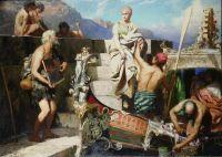 Отъезд Катерины Корнаро, королевы Кипра. 1878