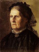 Портрет матери художника. 1887