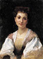 Портрет молодой итальянки. 1875
