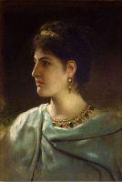 Портрет римлянки. 1890