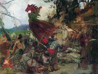 Похороны руса в Булгаре. Около 1883. ГТГ