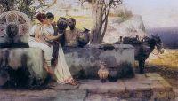 Продавец ваз. 1880