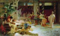 Сократ застаёт своего ученика Алкивиада у гетеры. 1875