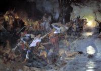 Тризна дружинников Святослава после боя под Доростолом в 971 году
