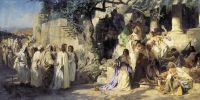Христос и грешница. 1873. Холст, масло