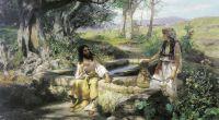 Христос и самарянка. 1890. Холст, масло