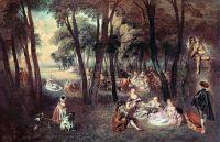 Деревенские забавы (1718) (88 х 125) (Лондон, собрание Уоллеса)