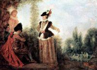 Кокетка (ок.1712) (19 х 24) (Труа, Музей искусств)