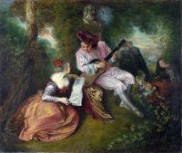 Любовная песня (1715-1718) (Лондон, Национальная галерея)