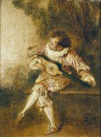 Меццетен (ок.1715) (24 х 17.5) (Шантильи, музей Конде).