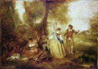 Пастушки (ок.1716) (31 ? 44) (Шантильи, Музей Конде)