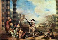 Прелести жизни (ок.1718) (65 ? 93) (Лондон, собрание Уоллеса)