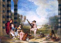 Прелести жизни (ок.1718) (65 ? 93) (Лондон, собрание Уоллеса).