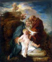 Святое Семейство (1719) (117 х 98) (С-Петербург, Эрмитаж)