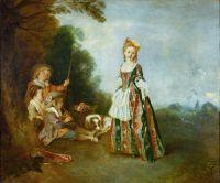Танец (1716-1718) (97 х 116) (Берлин, Гос.музей)