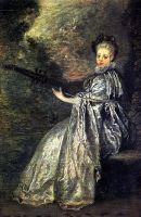 Чувствительность (ок.1717) (26 х 19) (Париж, Лувр)