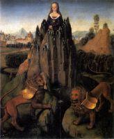 Аллегория Целомудрия (ок.1479-1480) (Париж, Музей Жакмар-Андре)