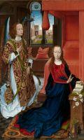 Благовещение (1465-1475) (186.1 x 114.9) (Нью-Йорк, Метрополитен)