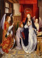 Благовещение (ок.1480-1489) (76.5 x 54.6) (Нью-Йорк, Метрополитен)