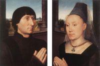 Диптих Виллема Морела (лицевая сторона) (ок.1482) (Брюссель, Королевский музей изящ.искусств)