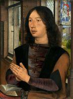 Диптих Мартина ван Ньювенховена_правая панель. Портрет Мартина ван Ньювенховена (44 х 33)