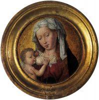 Мадонна с младенцем (тондо) (1475-1499) (17 см) (Антверпен, Музей Майера ван дер Берга)