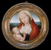 Мадонна с младенцем (тондо) (17.5 см) (1475-1480) (Нью-Йорк, Метрополитен)