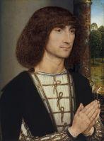 Портрет молодого человека (лицевая сторона) (1485-1490) (29,2 x 22,5) (Мадрид, Музей Тиссена-Борнемисы).