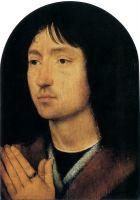 Портрет молящегося молодого человека (ок.1487) (16 х 12) (Банбери, Национальный фонд, дом Аптона)