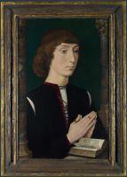 Портрет молящегося молодого человека (сер.1470-х) (Лондон, Нац. галерея)
