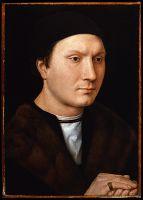 Портрет мужчины с перстнем (1485-1489) (35 х 25) (Флоренция, Уффици)