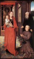 Св.Антоний представляет донатора Мадонне с младенцем (1472) (93 ? 55) (Оттава, Нац. галерея)
