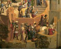 Сцены страстей Христовых (1470-1471)_деталь 3. Шествие на Голгофу