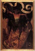 Триптих 'Земное тщеславие и Божественное спасение' (лицевая сторона-правая панель). Дьявол и ад