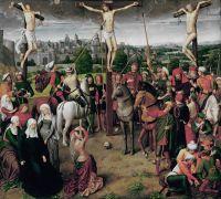 Триптих Распятие (ок.1490)_центральная панель (56 x 63)