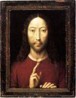 Христос благословляющий (1481) (34.8 x 26.2) (Бостон, Музей изящных искусств)