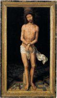 Христос у столба (ок.1485-1490) (58,8 x 34,3) (Барселона, коллекция Матеу)