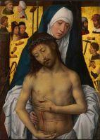 Христос-Страстотерпец на руках Богоматери (1475-1479) (27.4 х 19.9) (Мельбурн, Нац. галерея Виктория)