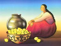 Гормен Р.К.  Женщина с лимонами