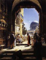 У входа на Храмовую гору в Иерусалиме